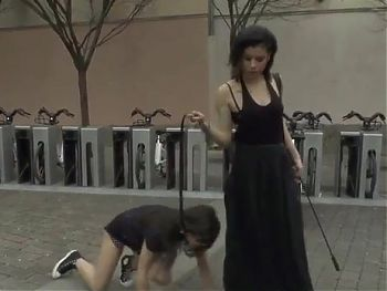 Public humiliation of a slave girl