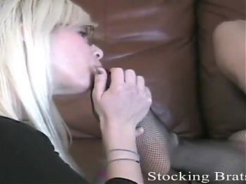 We get so horny when we wear stockings