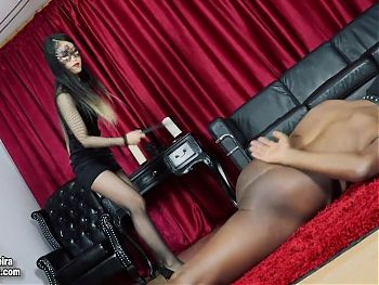 GoddessSeira - Whipping My slave for a discipline (preview)