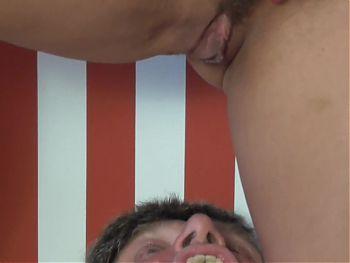 Pissing slave's torture